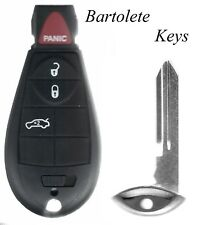 Replacement Transponder 4 Buttons Fob Fits Dodge Dart (FCC ID IYZ-C01C ONLY)