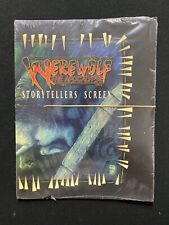 Werewolf The Apocalypse The Werewolf Storytellers Screen Second Edition - New