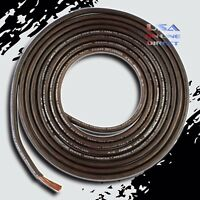 8 Gauge 20ft. OFC Copper AWG BLACK Power Ground Wire Car Audio Amplifier Cable