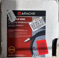 "Apache 98398250 3/8"" x 96"" Hydraulic Hose Male x Male Assembly"