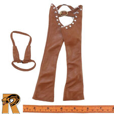 Sexy Cowgirl - Pants & Bikini Top (Brown) - 1/6 Scale - Super Duck Action Figure