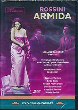 Rossini ARMIDA DVD NEW Mariame Clement Antwerp GHent Alberto Zedda Romeu