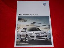 """VW Touareg """"North Sails"""" Sondermodell Prospekt von 2008"""