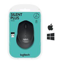 Logitech 910-004909 M330 Souris sans Fil Silencieuse USB pour Windows, Mac, Chro