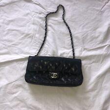 chanel vintage black hand bag