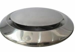 """Air Vent Ceiling Grille Outet Inlet Ventilation Ducting 4"""" 5"""" 6"""" SS CH"""