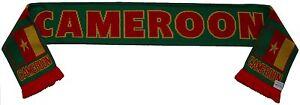 Cameroon Football Scarf