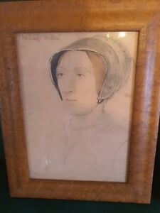 Hans Holbein Early Years Prints x3 (old prints) not repros