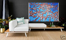 160cm wide 100cm Seascape Art Painting barrier reef canvas Australia aboriginal