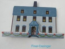 Vintage 1994 Shelia'S Dwight House Deerfield Massachusetts wood Collectible Vtg