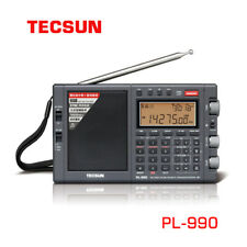 Tecsun PL-990 Full band HF FM AM SSB Radio Receiver Music Player Bluetooth