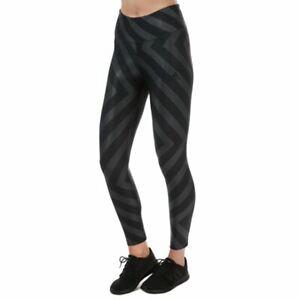 Women's adidas Allover Graphic High Rise Elastic Waist Leggings in Black