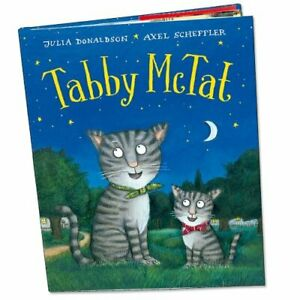 Tabby McTat by Julia Donaldson Hardback Book The Cheap Fast Free Post