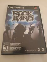 Rock Band - Disc and Case PS2 Sony Playstation 2