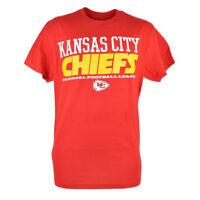 NFL Kansas City Chiefs Workhorse Mix Red Mens Tshirt Football Tee Shirt