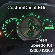 RED SPEEDO ONLY LEXUS is200 is300 Altezza Custom Dash Led Bulbs