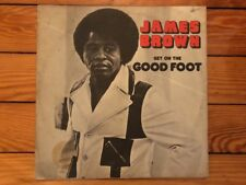 James Brown ‎– Get On The Good Foot 1972 Polydor PD-2-3004 Promo Jacket/Vinyl VG