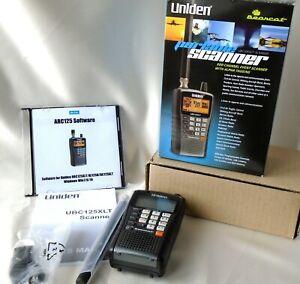 Uniden UBC-125XLT 500 Channel Handheld Scanner