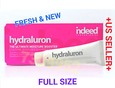 "indeed labs "" HYDRALURON "" MOISTURE BOOSTER BNIB 1 fl.oz. BEST Face Moisturizer"