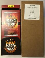 2009 PRESS PASS KISS 360 TRADING CARDS LOT OF 36 PACKS FROM A SEALED BOX - READ
