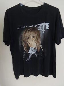Vintage Melissa Etheridge 1996 Tour 2 Sided Graphic Printed T-Shirt Men Large