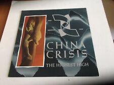 "CHINA CRISIS THE HIGHEST HIGH 12"" SINGLE"
