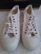 Converse (genuine) Chuck Taylor all stars SP OX US13 white monochrome