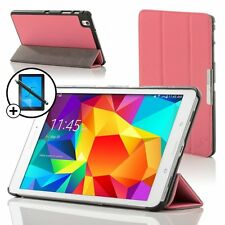 Pelle Rosa Smart Case per Samsung Galaxy Tab PRO 8.4 + Proteggischermo & Stilo