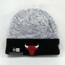 New Era Cap Men's NBA Chicago Bulls Chiller Tone Winter Knit Beanie Hat