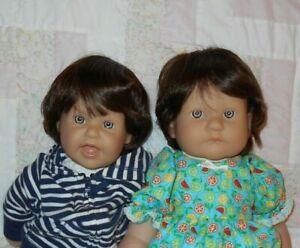 Kemper HUMAN HAIR CHRIS Unisex Doll Wig 12/13~DARK BROWN Full Cap  NEW NO Tags