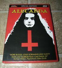 ALUCARDA Special Edition Mondo Macabro OOP DVD Sealed