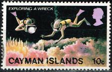 British Cayman Islands Scuba Diving Marine Life stamp 1969