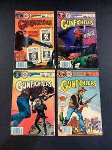 GUNFIGHTERS #82 83 84 85 COPPER AGE WESTERN Comic Book LOT SIMON KIRBY APARO