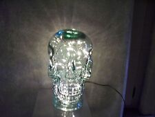 SKULL GLASS HEAD NW GREEN RECYCLED HAND MADE IN SPAIN MANNEQUIN HALLOWEEN DECOR