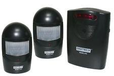 A9BB Inalámbrico Timbre De Alerta Entrada Sensor De Movimiento Pir Alarma Garaje Resistente a la intemperie