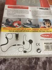 Unused Stored Cellularline Sony-Ericsson 8018080002182 Helmet Headset AUHELMET28