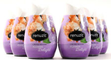 6 Renuzit Limited Edition Flower Delight Gel Air Freshener 7 Oz.