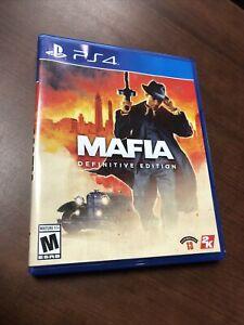 Mafia Definitive Edition PS4 (PlayStation 4, 2020)