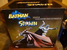 BATMAN AND SPAWN STATUE #334 of 1300 DC DIRECT & MCFARLANE TOYS w/ COA & SEALED