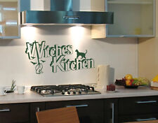 Halloween Witches Kitchen - highest quality wall decal sticker
