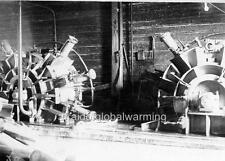 Photo. ca 1900. Jämsänkoski, Finland. Grinders in Pulp Mill
