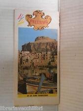 PALERMO 1970 Francese Guida fotografica di Palermo libro viaggi manuale corso di