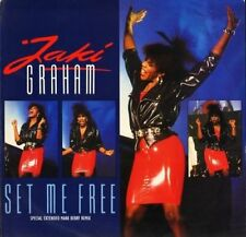 "Jaki Graham - Set Me Free Special Extended Remix / Stop The World - 12"" 1986"