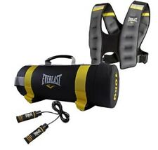 Everlast Cross Training Set Power Bag Jump Rope Weighted Vest Outdoor Exercise