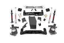 "Chevy GMC 1500 Pickup 5"" Lift w/ Lifted Struts 14-17 4WD *Cast Steel Arm Models"