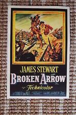 Broken Arrow Lobby Card Movie Poster Western James Stewart