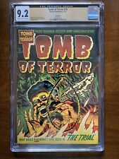 Tomb of Terror #10 - CGC 9.2 - Northford Pedigree