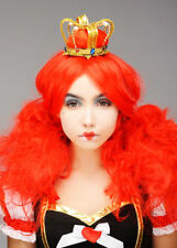 Deluxe Queen of Hearts Wig and Crown