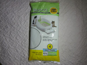 Tidy Cats Breeze Litter Pad - 1 pack of 3 pads Open Package  b1