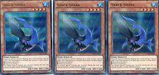 YUGIOH CARD - 3 X SABER SHARK -  DUELIST SAGA   DUSA-EN004